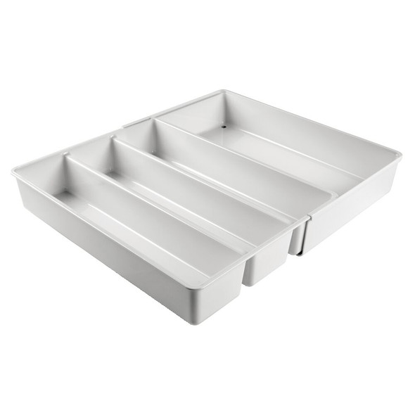 4 Section Expandable Home Office Drawer Organizer