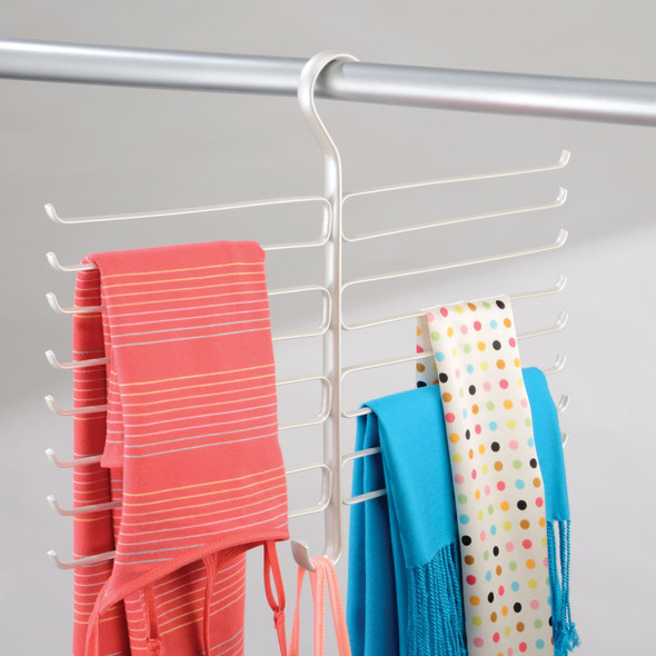 Hanging Accessory and Scarf Holder Organizer - 16 Arms