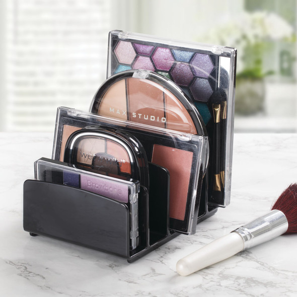 5 Section Divided Plastic Makeup Cosmetic Storage Organizer