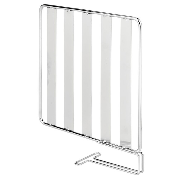 "Metal Wire Shelf Divider & Separator for Closet Storage - 7.8"" x 2"" x 9"""