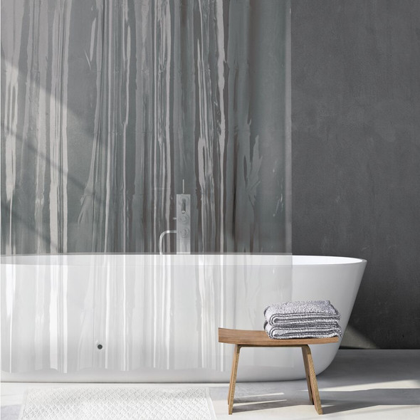 "PEVA Shower Curtain Liner for Bath - 72"" x 72"""