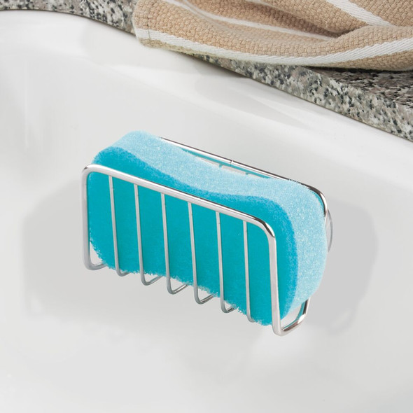 Kitchen Sink Storage Caddy with Soap / Sponge Holder