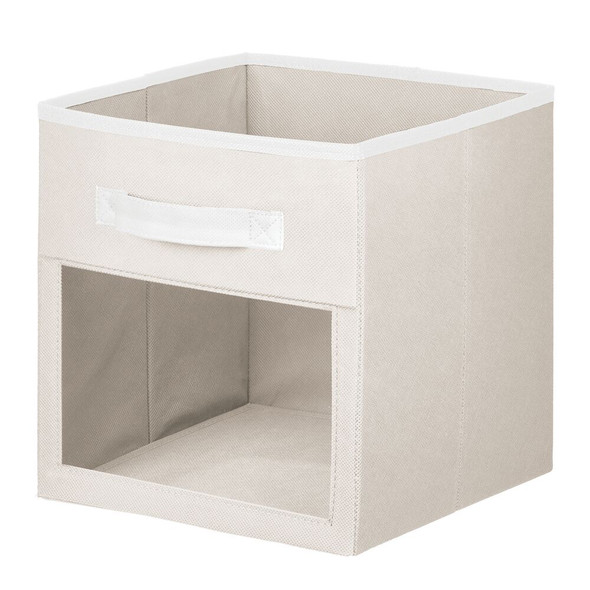 Fabric Storage Organizer Cube With Front View Window