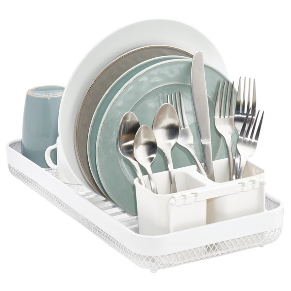 Metal Compact Kitchen Sink Dish Drying Rack