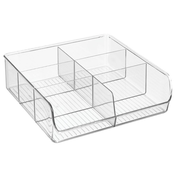 Plastic Home Office Storage Organizer, 6 Sections