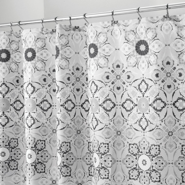 "Decorative Print Fabric Shower Curtain - 72"" x 72"""