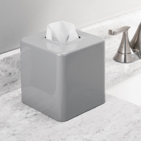Metal Square Tissue Box Cover Holder