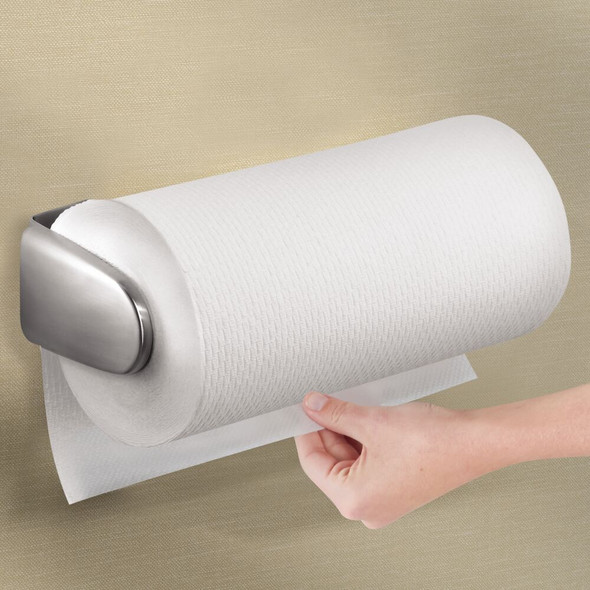 Metal Wall Mount / Under Cabinet Paper Towel Holder