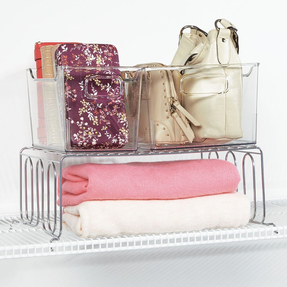 Metal Wire Shelf Divider & Separator for Closet Storage