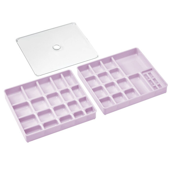 35 Slots Plastic Jewelry, Bead, Sewing Storage Trays, Set of 3