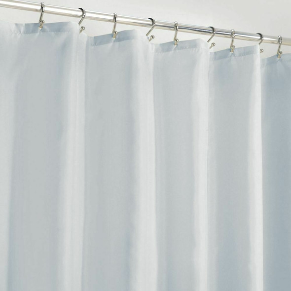 Water Repellent Fabric Shower Curtain Liner, 72 x 72""