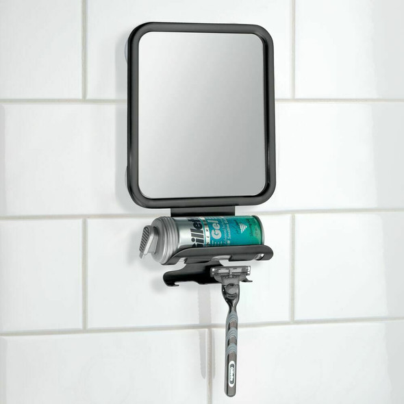 Suction Cup Shower Mirror for Shaving, Makeup, Travel