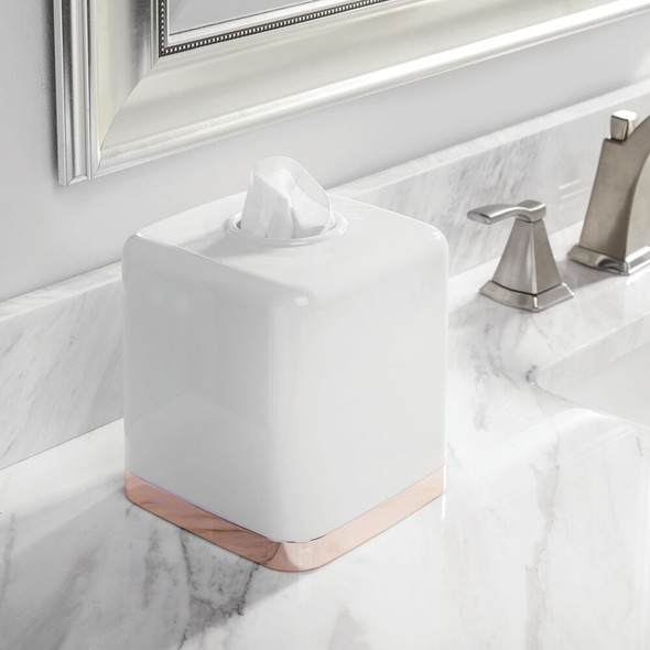Plastic Square Facial Tissue Box Cover Holder