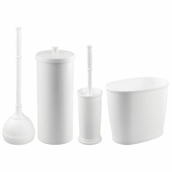 Bathroom Cleaning and Toilet Paper Storage Combo - Set of 4