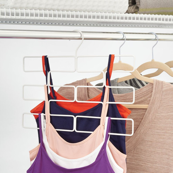 Hanging Accessory and Scarf Holder for Closet Storage