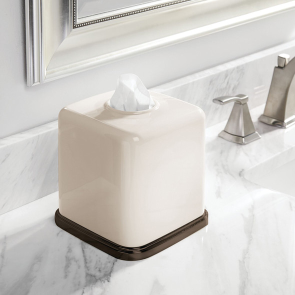 Square Facial Tissue Box Cover Holder