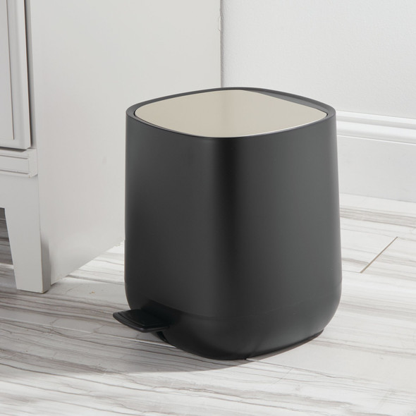 Modern 5 Liter Plastic Step Trash Can Garbage Bin
