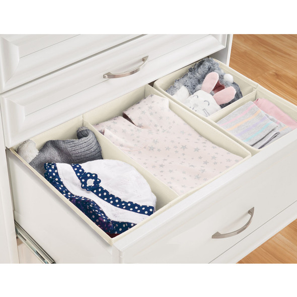 Fabric Drawer Organizers for Baby + Kids - Set of 8