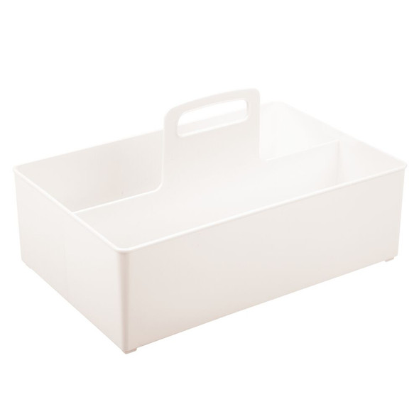 Large - Plastic Bathroom Storage Organizer Caddy / Tote