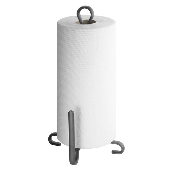 Modern Metal Countertop Paper Towel Stand and Holder