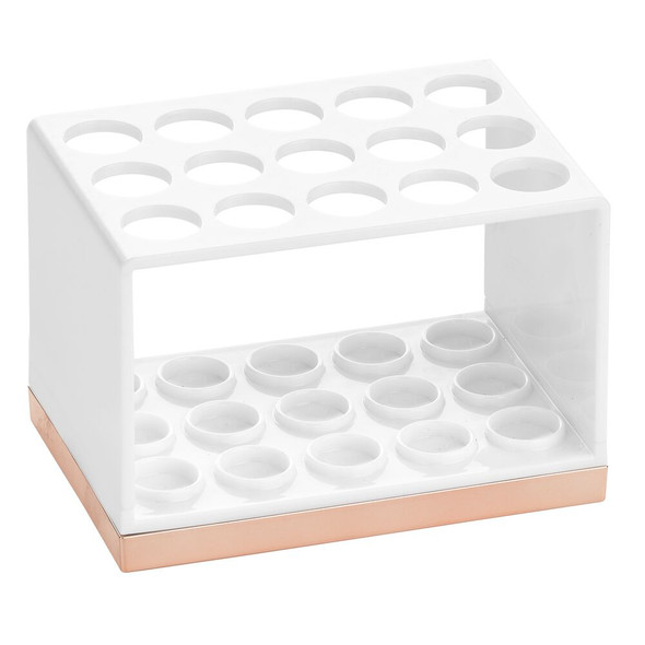15 Slot Makeup Brush Holder Vanity Storage Organizer