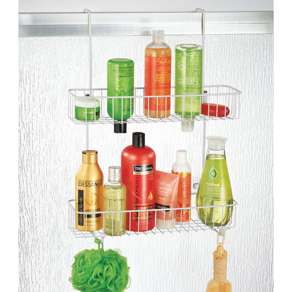 Over Door Bathroom Hanging Storage Shower Caddy