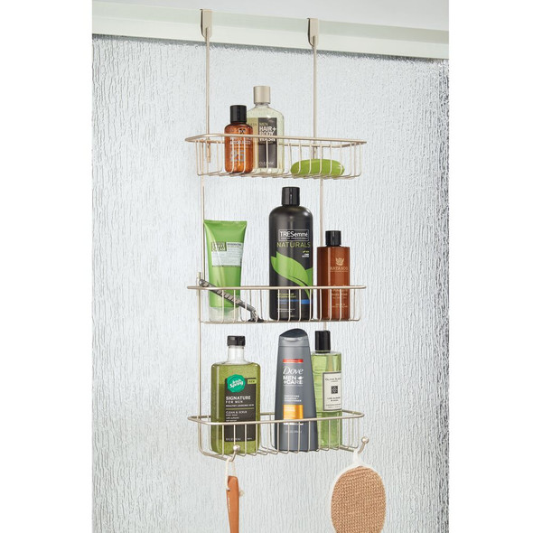 Over Door Hanging  Bathroom Tub Shower Caddy Storage