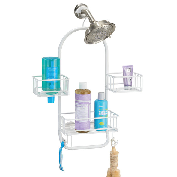 Metal Bathroom Shower Caddy for Hanging Storage