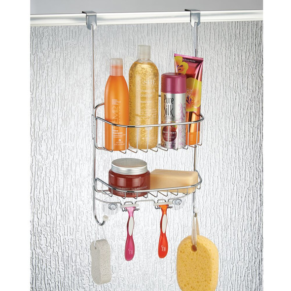 Over Door Bathroom Tub Hanging Shower Caddy