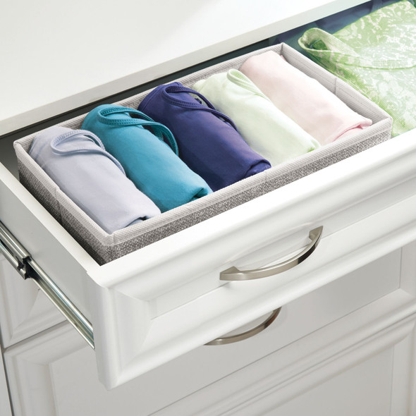 Fabric Closet + Dresser Drawer Storage Organizer