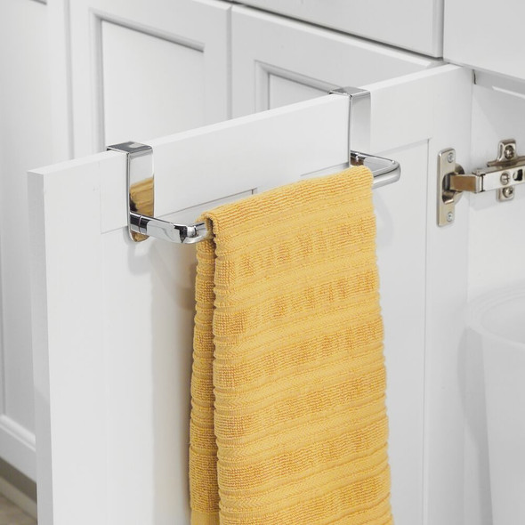 Over Cabinet Door Towel Bar for Kitchen, Bathroom