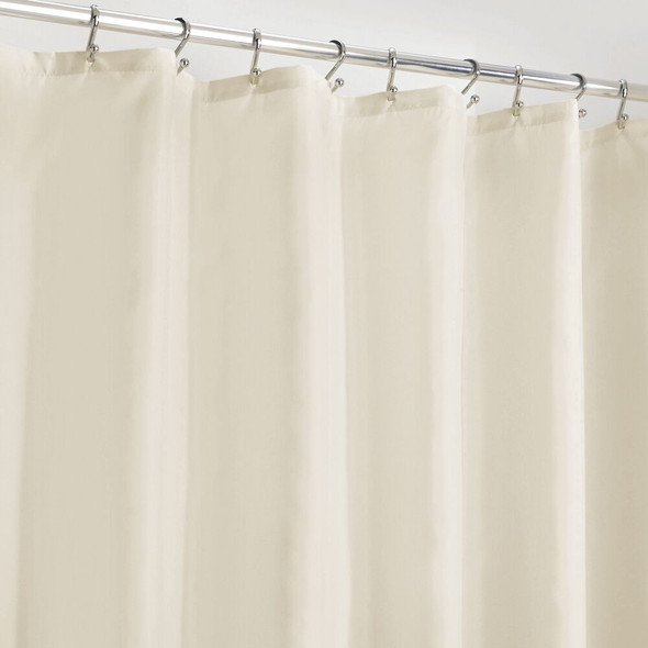 "Water Repellent Fabric Shower Curtain Liner - 72"" x 96"""
