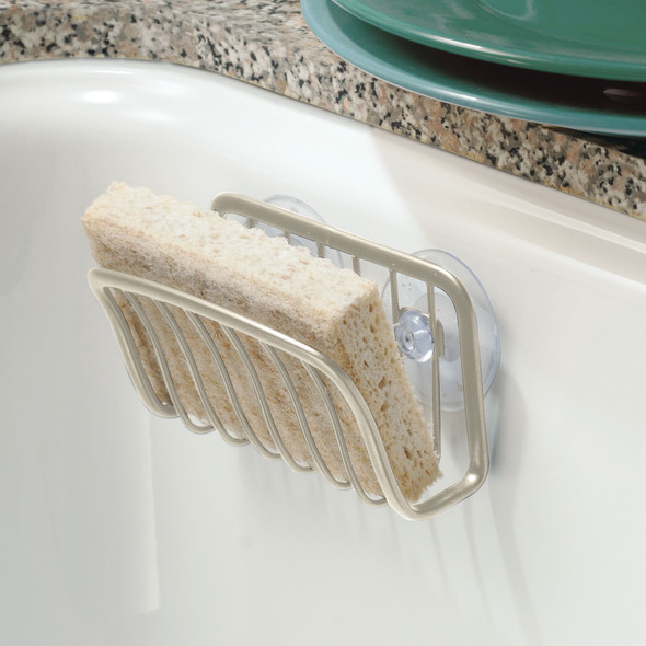 Kitchen Sink Suction Storage Caddy, Soap / Sponge Holder