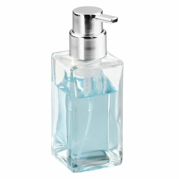 Square Glass Refillable Foaming Soap Pump - Pack of 4
