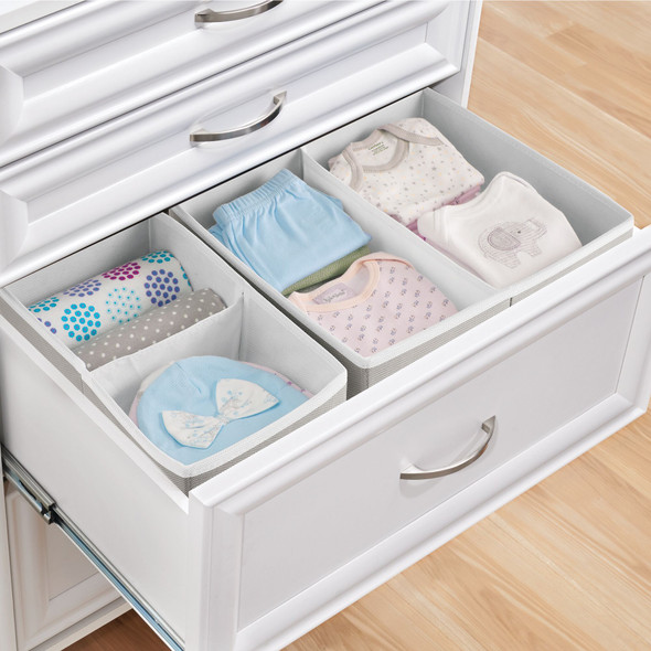 Fabric Dresser Drawer Storage Organizer