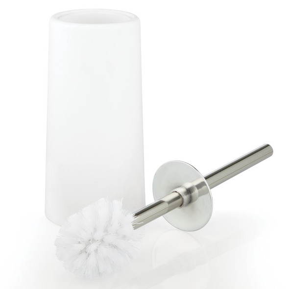 Modern Compact Toilet Bowl Brush Holder for Bathroom