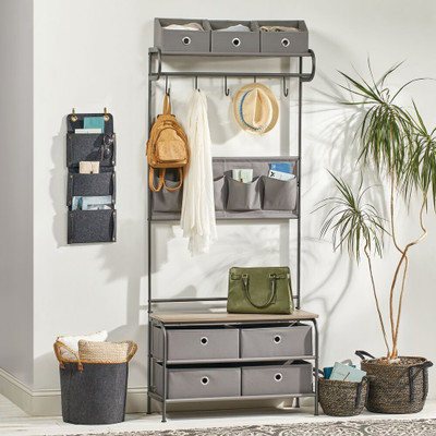 Creating a COVID-Friendly Functional Mudroom