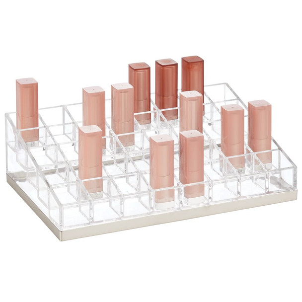 40 Section Plastic Makeup Cosmetic Storage Organizer