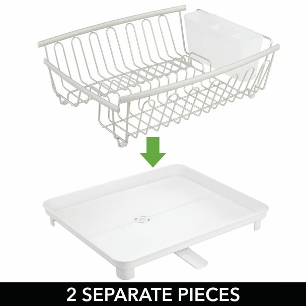 Large Kitchen Sink Drying Rack with Swivel Spout