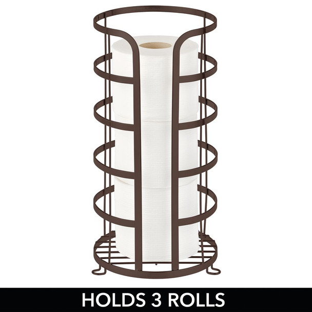 Metal Toilet Paper Tissue Roll Stand Holder
