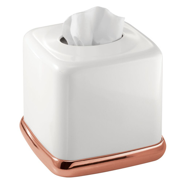 Metal Square Facial Tissue Box Holder Cover