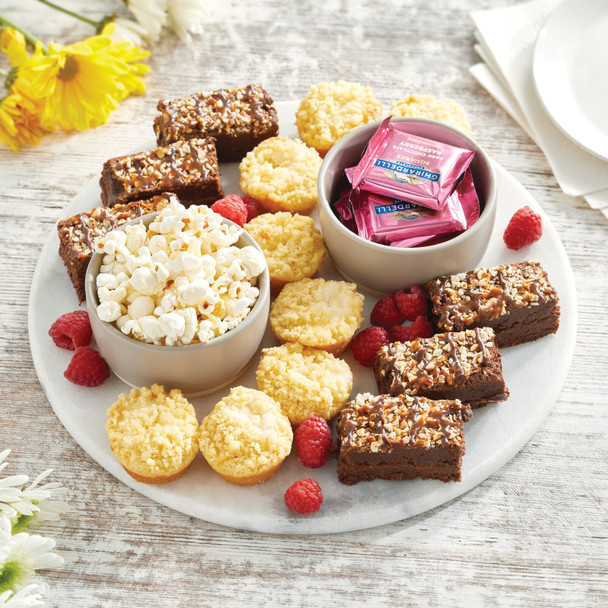 Marble Serving and Pastry Board - Round
