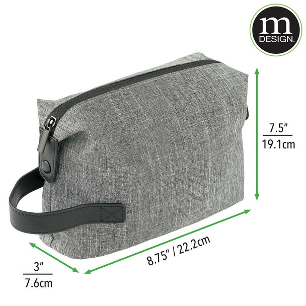4 Compartment Travel Toiletry and Cosmetic Bag