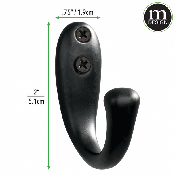 Wall Mount Hooks For Office - Pack of 6