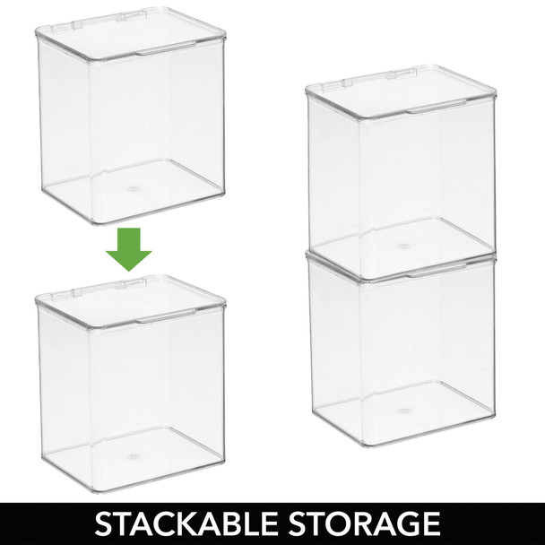 Stackable Kitchen Storage Box with Lid