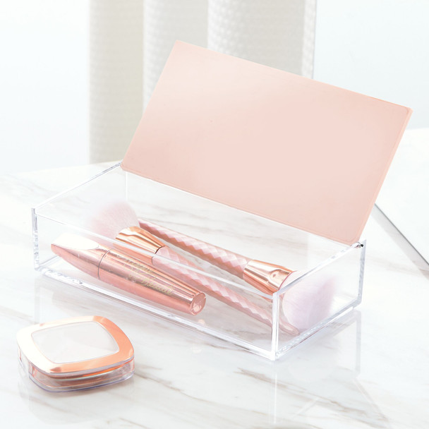 Clarity Plated Storage Box with Lid