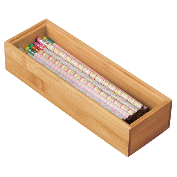 Bamboo Drawer Organizer for Office