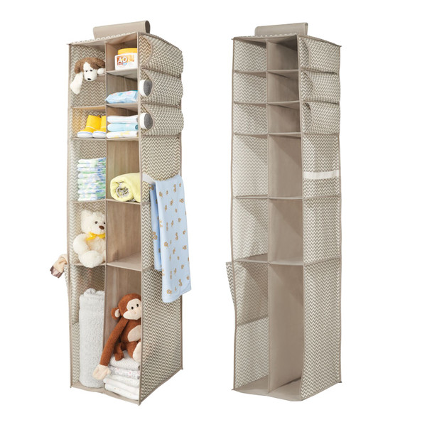 Fabric Kids Hanging Closet Nursery Organizer