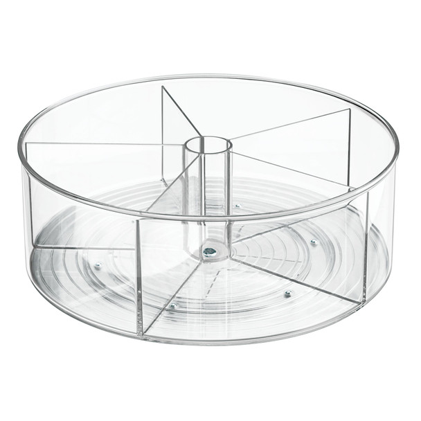 "Plastic Lazy Susan Turntable for Nursery Storage - 11.5"" Diameter"