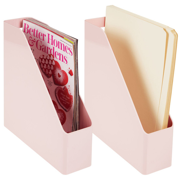 Office Desk Organizer and Magazine File Holder Bin